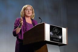 Linda Crompton, President and COO