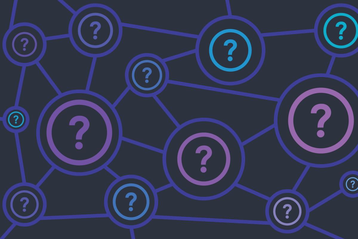 question marks scenario planning