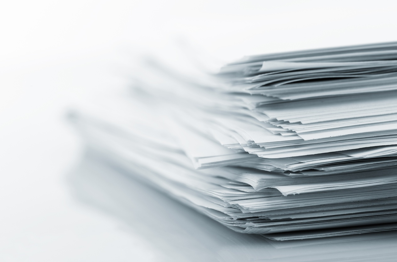 Image of Papers - The Boardroom, nonprofit leadership, boardsource