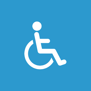 ADA Americans With Disabilities Logo Wheelchair