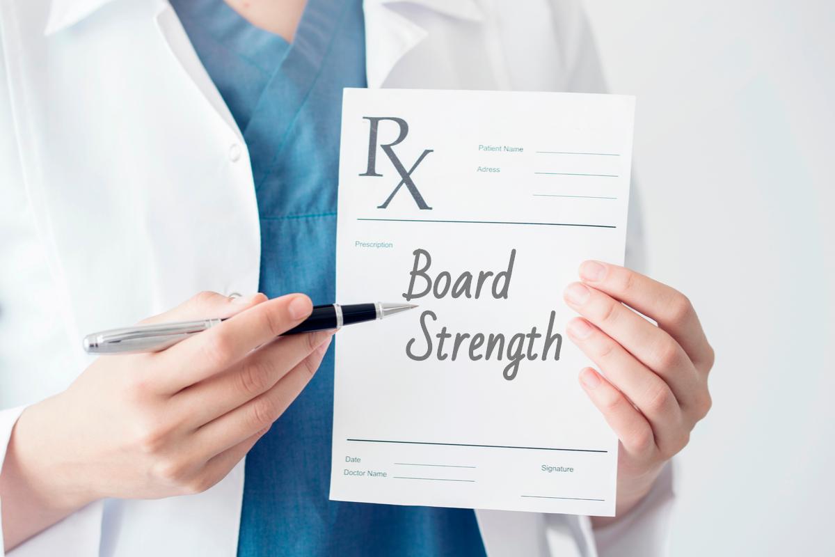 board strength prescription