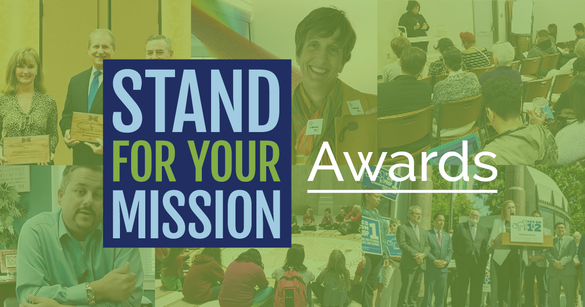 Advocacy in Action: The 2019 Stand for Your Mission Award Finalists